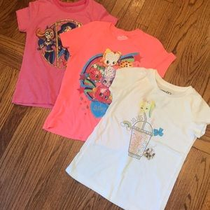 Girls T-shirts-  3 shirts!!
